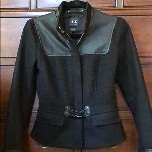Armani Exchange Black Jacket